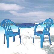 접이식 원형탁자 의자 Set